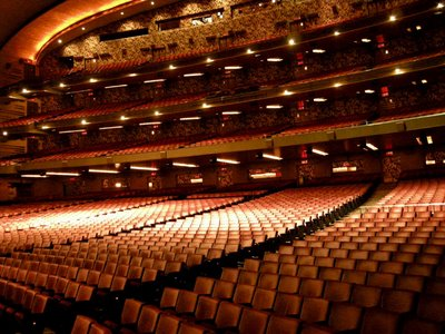 If I had my way, all theaters would look like this... ah, a man can dream...