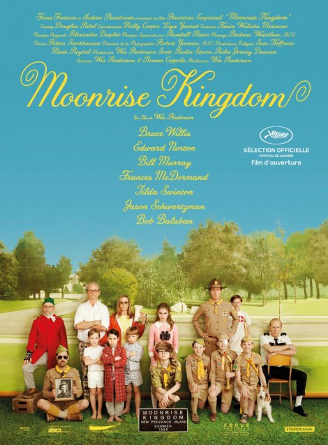 Moonrise Kingdom. International Poster shows as Gary Oldman might say... EV.ER.Y.ONE!