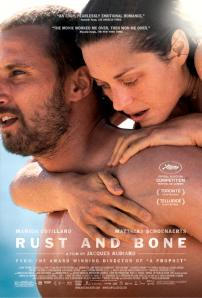 Rust and Bone. Two people in such close contact, dripping wet. Must be French.