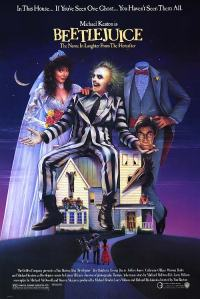 Classic Beetlejuice poster.